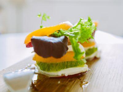 Salade fraiche légère et colorée